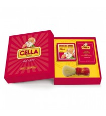 CELLA GIFT SETS CREMA BARBA + LOZIONE + PENNELLO BARBA